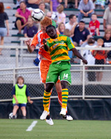 Railhawks vs TB Rowdies