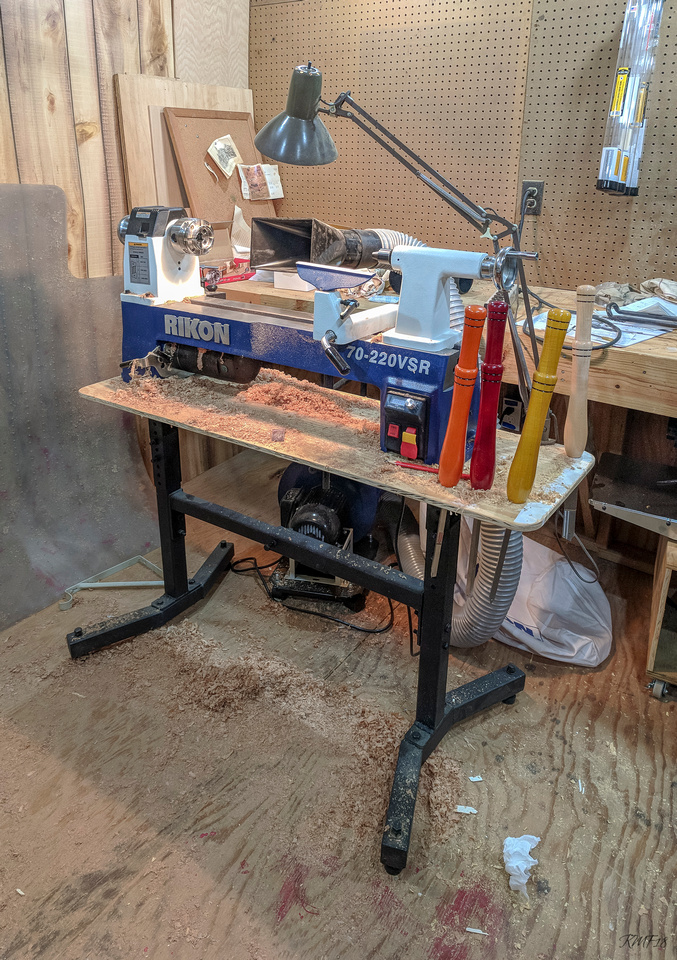 121/365 Lathe is up and running