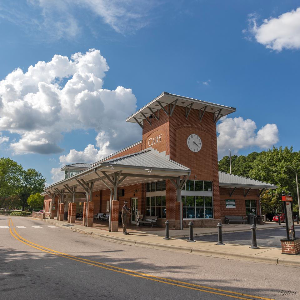 245/365 Cary Train Station