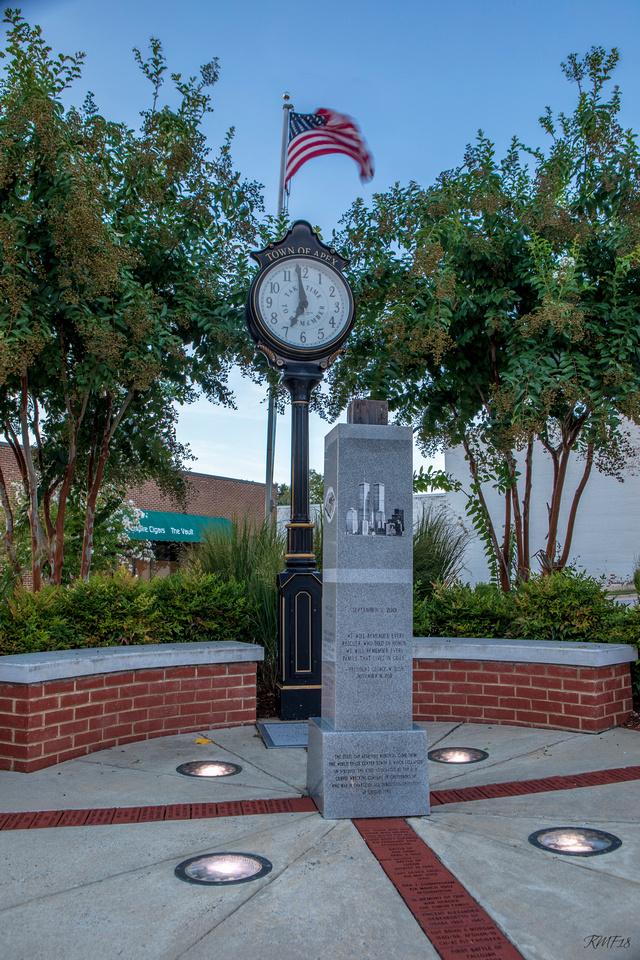 253/365 9/11 Memorial, Apex NC