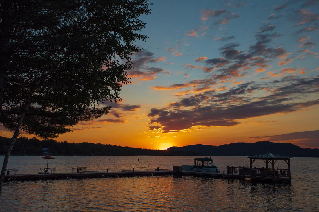 273/365 Adirondack Sunset