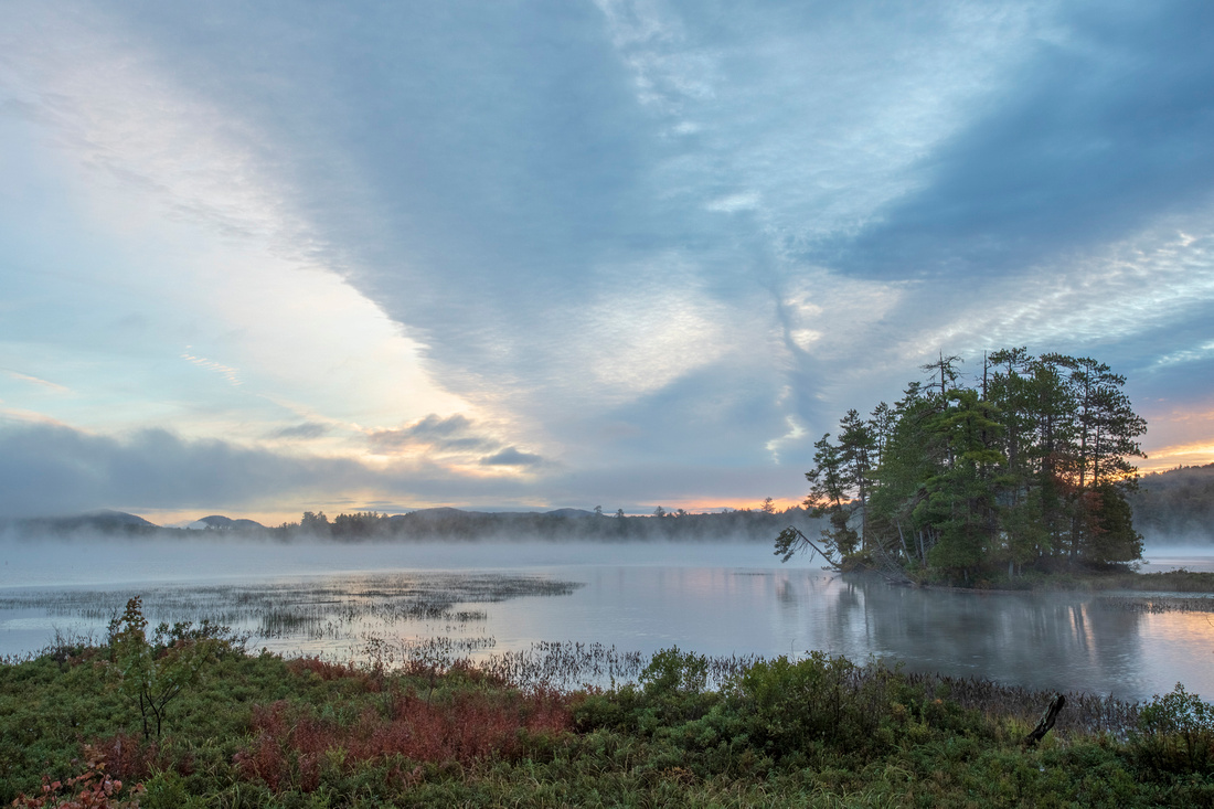 280/365 Sunrise at Raquette Lake South Inlet