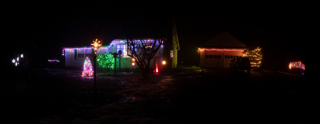 363/365 Christmas Lights at the Gloversville Bunny Farm