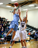 Girls Basketball: Panther Creek vs. Green Hope (Feb 19, 2016)