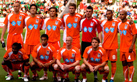 Railhawks vs Mexico Olympic Team