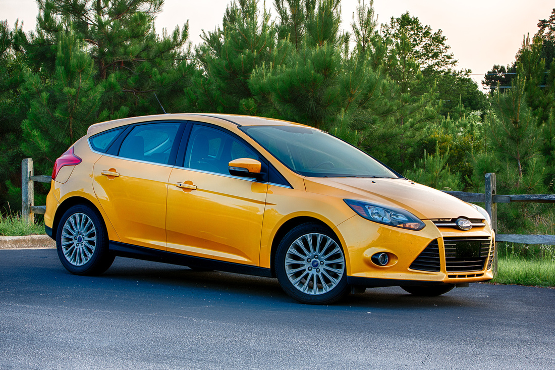 Karl Fisher Photography 174 365 2012 Ford Focus Titanium In Yellow