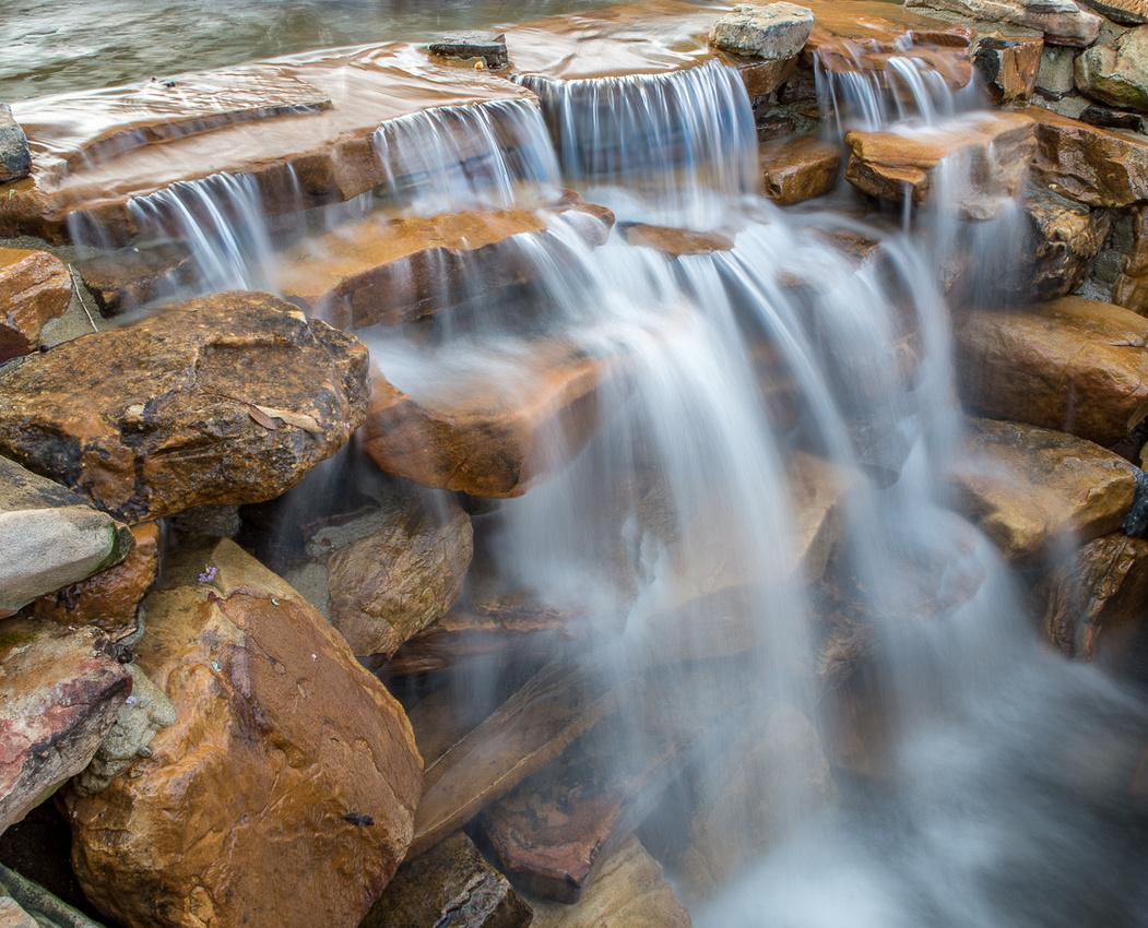 187/365 Waverly Fountain waterfall