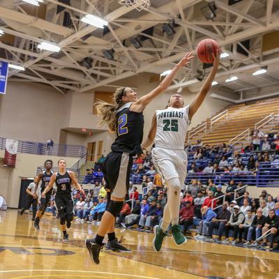 Girls Basketball: Laney vs Southeast Raleigh  (Mar 3,  2018)